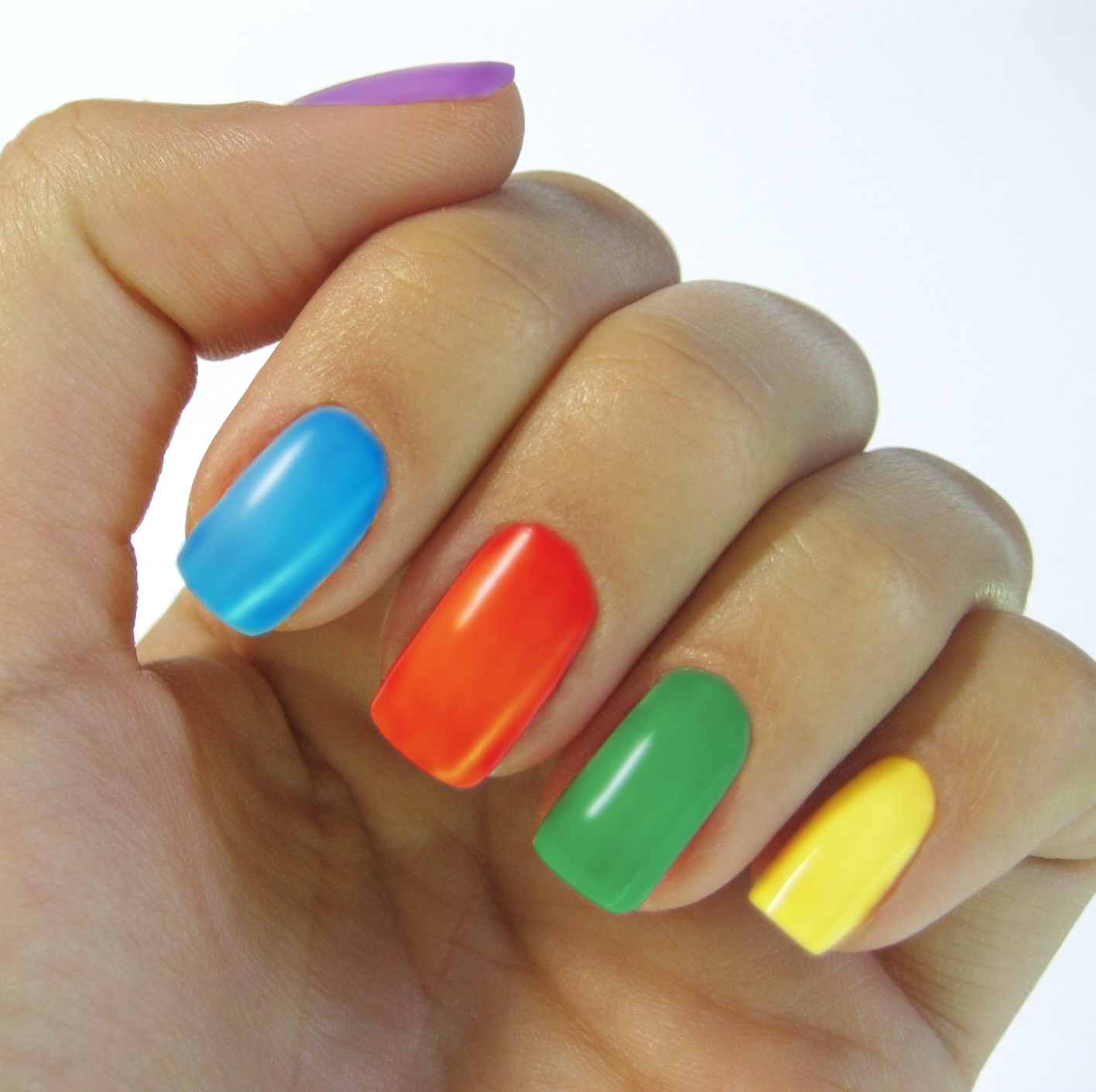 Of rainbow nails and unlocked doors